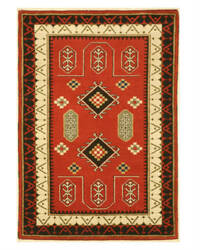 Eastern Rugs Kazak 9287 Red Area Rug
