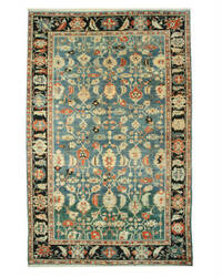 Eastern Rugs Bergama Ba1004 Blue Area Rug