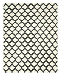 Eastern Rugs Casablanca Dm11bk Black Area Rug