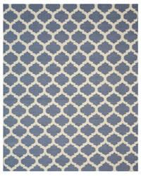 Eastern Rugs Modern Moroccan Dm11bl Blue Area Rug