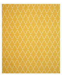 Eastern Rugs Modern Moroccan Dm12gd Yellow Area Rug
