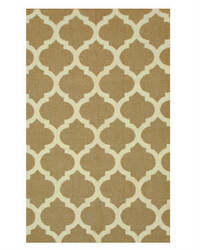 Eastern Rugs Flatweave Reversible Moroccan Dm72bn Brown Area Rug