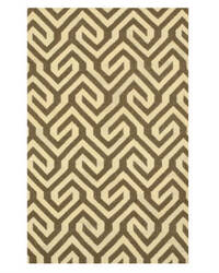 Eastern Rugs Flatweave Reversible Casba Dm76bn Brown Area Rug