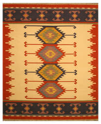 Eastern Rugs Tribal Dn1mu Ivory Area Rug