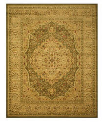 Eastern Rugs Yale Os1215gn Green Area Rug