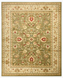 Eastern Rugs Yale Os2555gn Green Area Rug