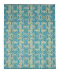 Eastern Rugs Brandon Os600bl Blue Area Rug