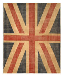 Eastern Rugs Patch Ot74rd Red Area Rug
