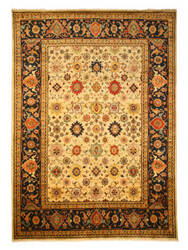 Eastern Rugs Tribal Sht19iv Ivory Area Rug