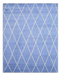 Eastern Rugs Trellis Moroccan Sht22bl Blue Area Rug