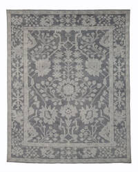 Eastern Rugs Monochrome Oushak Sht28gy Grey Area Rug