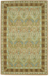 Eastern Rugs Morgan T109gn Green Area Rug