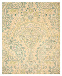 Eastern Rugs Paisley T116gn Ivory Area Rug
