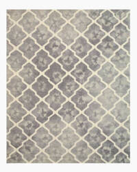 Eastern Rugs Tie-Dye Moroccan T127gy Grey Area Rug