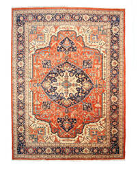 Eastern Rugs Persian Heriz X23896 Rust Area Rug