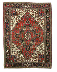 Eastern Rugs Heriz X23995 Rust Area Rug