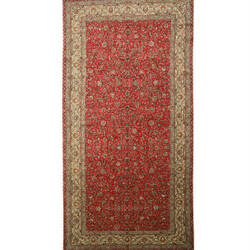 Eastern Rugs Tabriz X27734 Red Area Rug