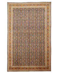 Eastern Rugs One-Of-A-Kind X31132 Navy Area Rug
