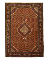 Eastern Rugs One-Of-A-Kind X34711 Rust Area Rug