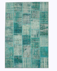 Eastern Rugs Turkish Patch X35375 Green Area Rug