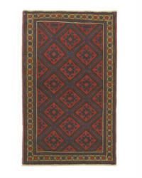 Eastern Rugs Baluchi X35534 Red Area Rug