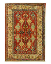 Eastern Rugs Super Kazak X35773 Red Area Rug