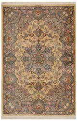 Eastern Rugs Qum X36017 Gold Area Rug