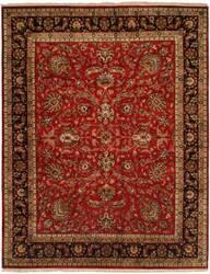 Kalaty Kabir Kb-369 Red/Black Area Rug