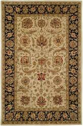 Kalaty Empire EM-286 Ivory-Black Area Rug