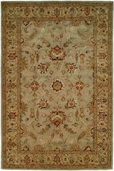 Kalaty Empire EM-288 Light Blue-Gold Area Rug