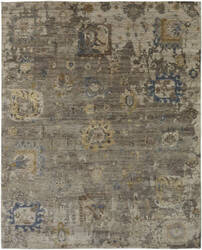 Famous Maker Oberon 100089 Heather Brown Area Rug