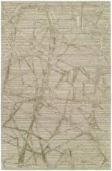 Famous Maker Titanium 100594 Graphic Linen Area Rug
