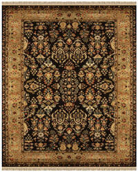 Feizy Amore 8327f Black - Gold Area Rug