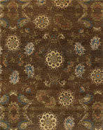RugStudio Transitional 44549 Brown Area Rug