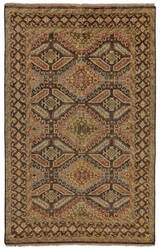 Feizy Ashi 6127f Brown Area Rug