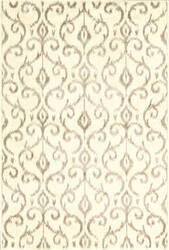 Feizy Azeri Iii 3842f Cream - Gray Area Rug