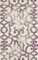 Feizy Lorrain 8564f Violet Area Rug