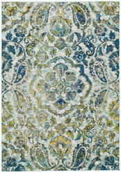 Feizy Brixton 3607f Azure Area Rug