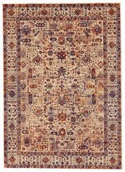 Feizy Hammond 3508f Taupe - Blue Area Rug