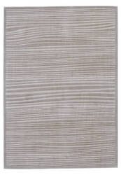 Feizy Melina 3398f Taupe - White Area Rug