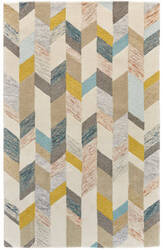 Feizy Arazad 8446f Gray - Gold Area Rug