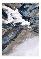 Feizy Gaspar 3838f Gray - White Area Rug