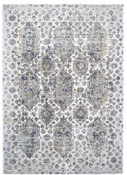 Feizy Marigold 3832f White - Gray Area Rug