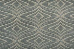 Hagaman Elegance Modern Trellis Marble Area Rug
