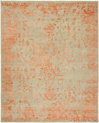 HRI Mystique My-7766 Grey Rust Area Rug