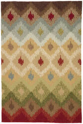 Jaipur Living Barcelona I-O Pedra BA10 Candied Ginger - Harbor Gray Area Rug