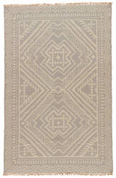 Jaipur Living Batik Yao Bat04 Silver Green - Bone White Area Rug