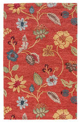 Jaipur Living Blue Garden Party BL05 Copper Brown - Mustard Gold Area Rug
