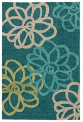 Jaipur Living Catalina Blossomed Cat08 Foliage - Porcelain Green Area Rug