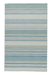 Jaipur Living Coastal Shores Kiawah Coh07 Harbor Gray - Dusty Turquoise Area Rug